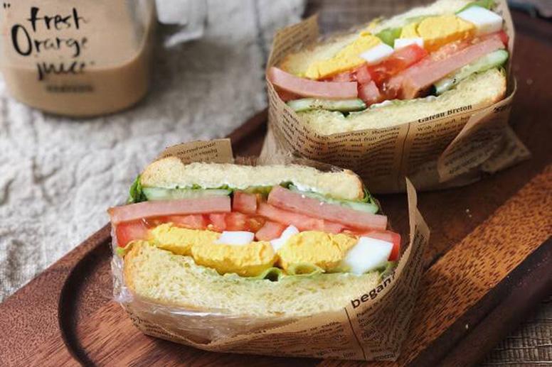 Good day start from sandwich