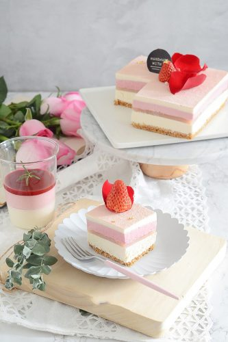 24 Desserts Girls Love The Best Of All Time - 3 Classic French Lychee Rose Raspberry Mousse