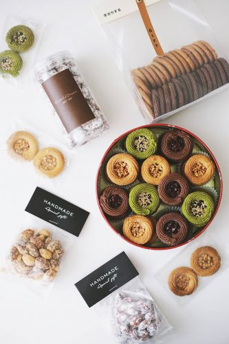 24 Desserts Girls Love The Best Of All Time - Roman Shield Cookies & Honey Butter Almonds