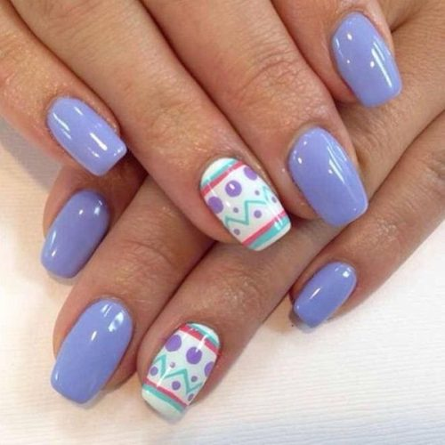 35 Cute Easter Egg Nail Design Ideas for Trendy Girls