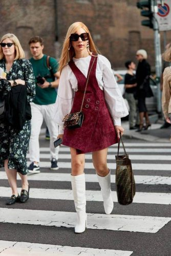 4 Classical Elements for Retro Style Outfits - Suede