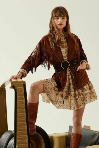 4 Classical Elements for Retro Style Outfits - Western Denim Jacket