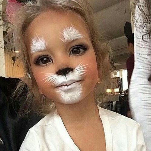 20+ Easter Bunny Makeup for Kids