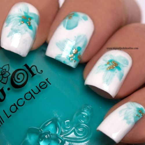 40+ Gorgeous Floral Nails Art Designs Suit Spring