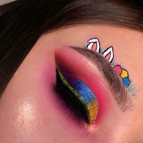 42 Lovely Easter Theme Makeup to Try This Easter