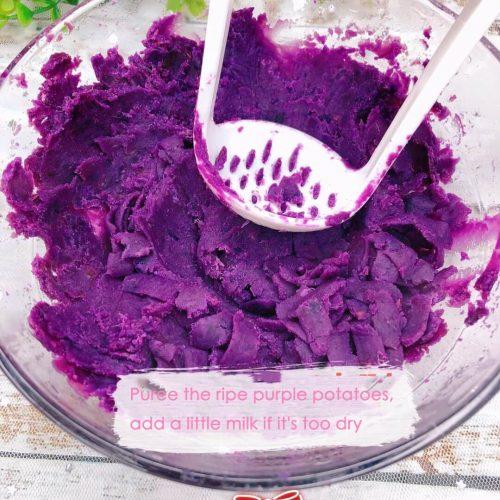 Purple Potato Cookie Recipe