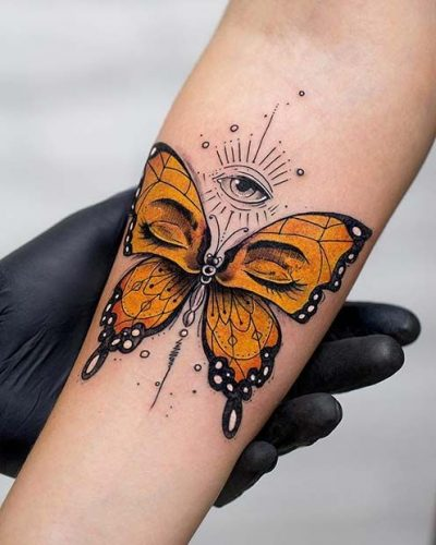 Stylish Butterfly Tattoo Ideas